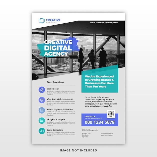 Corporate business flyer template Premium Psd