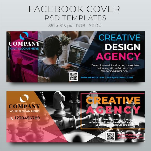 Corporate Facebook Timeline Cover Design Template Psd File Premium