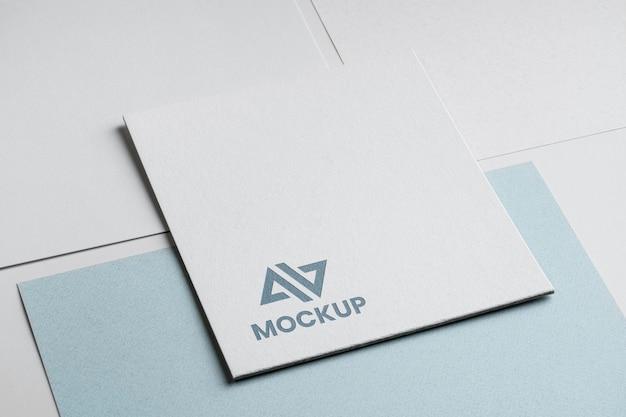 Фирменный стиль абстрактный макет логотипа Бесплатные Psd
