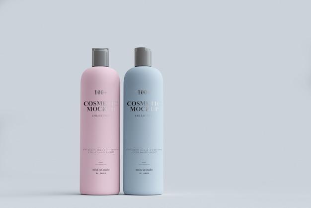 Cosmetic bottle mockups Premium Psd