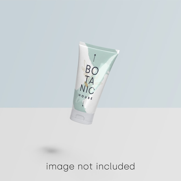 Cosmetic mockup Free Psd