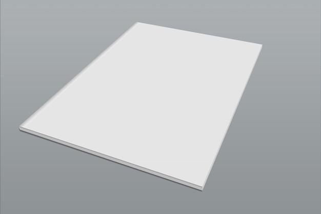 カバーモックアップa4サイズ Premium Psd