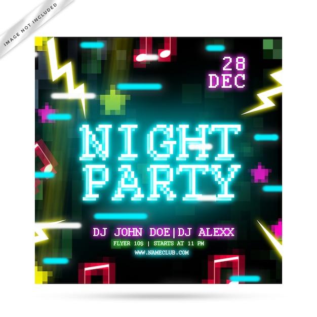 Вечеринка craf flyer Premium Psd