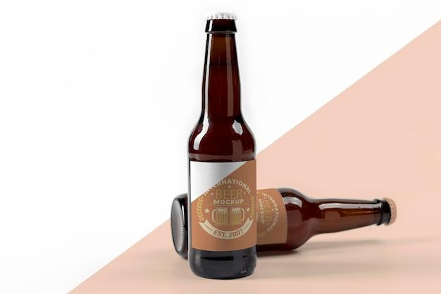 Craft beer concept mock-up Premium Psd