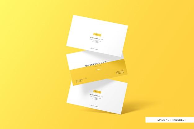 Creative business card mockup Premium Psd