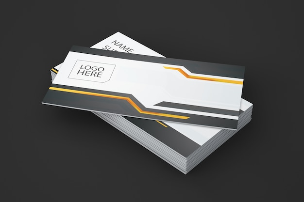 Creative business card showcase Free Psd