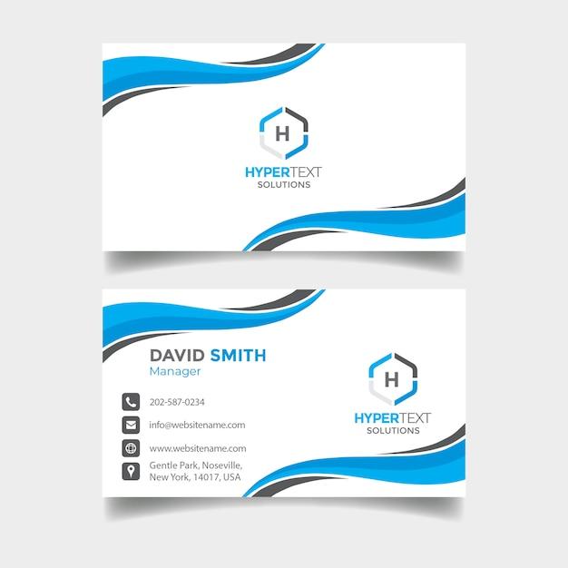 Creative business card Premium Psd