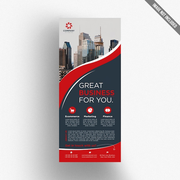 Creative business flyer Premium Psd