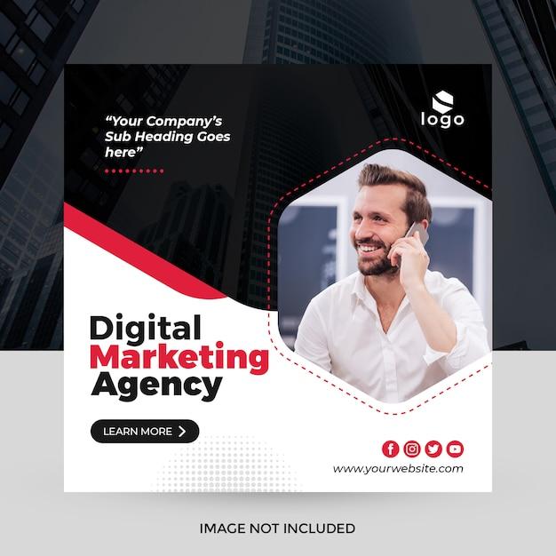 Creative business social media banner Premium Psd