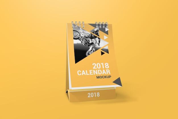 Creative calendar mockup Premium Psd