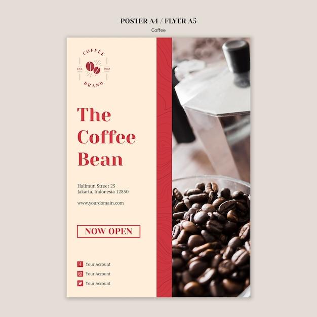 Flyer psd cafe 39+ Coffee