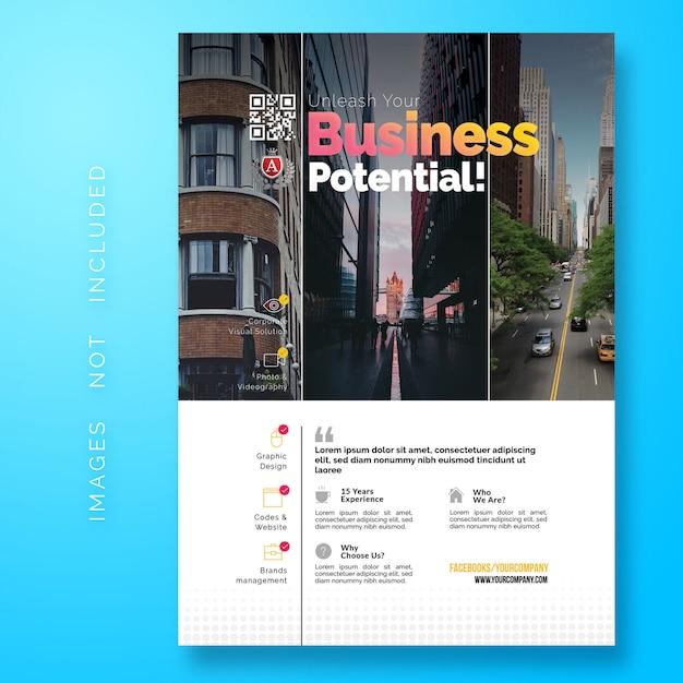 Creative corporate flyer Premium Psd