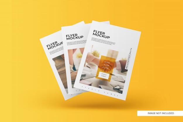 Creative flyer mockup Premium Psd