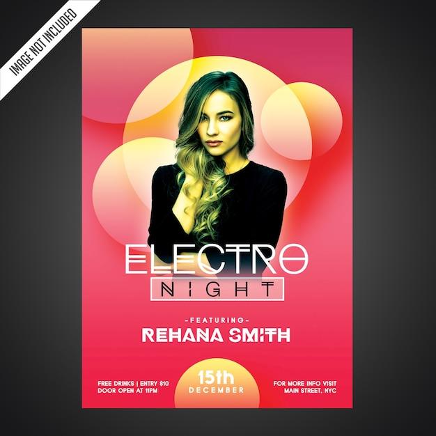 Creative party flyer template Premium Psd