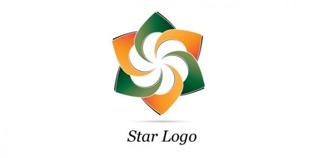 Creative star logo design PSD file | Free Download