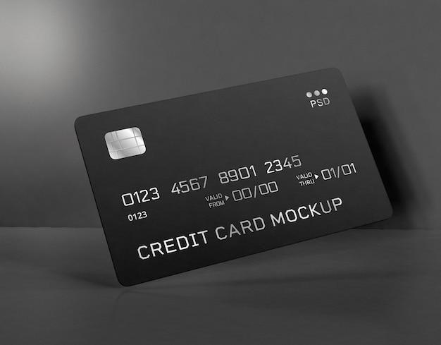 신용 카드 모형 무료 PSD 파일