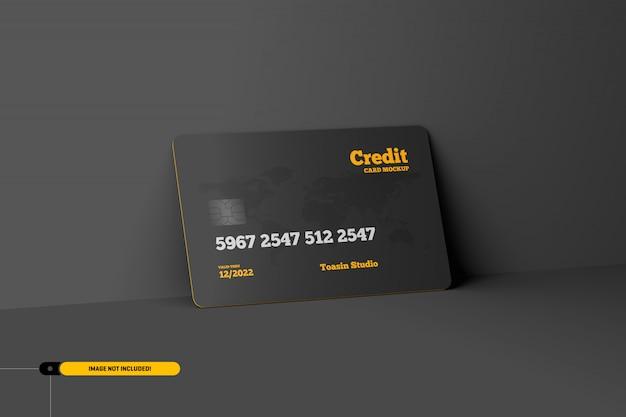 Credit cards. gift cards mockup Premium Psd
