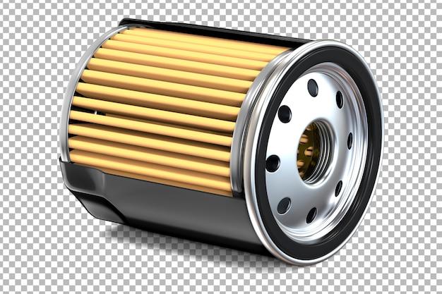 Поперечное сечение черных автомобильных масляных фильтров двигателя Premium Psd