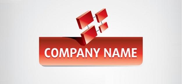 D business logo design PSD file | Free Download
