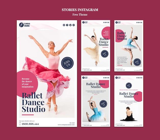 ダンススタジオinstagramストーリーテンプレート 無料 Psd