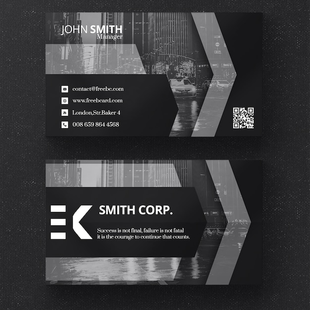 Dark business card template psd file free download dark business card template free psd colourmoves