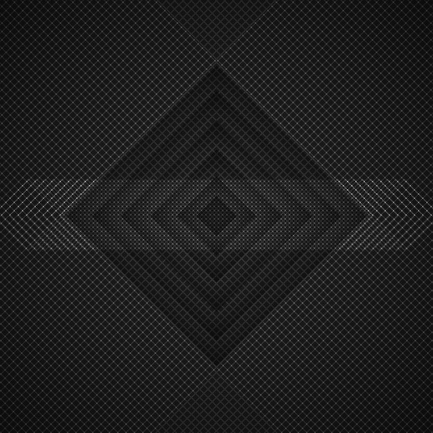 Dark rhombus background Free Psd