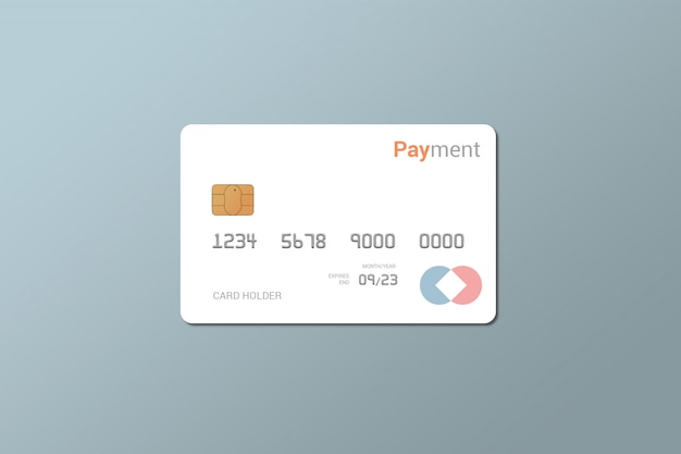Debit card, credit card, smart card mockup Premium Psd