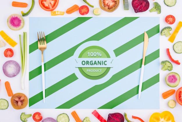 おいしい食べ物のコンセプトのモックアップ 無料 Psd