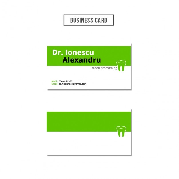 Dentist business card design psd file free download dentist business card design free psd reheart Choice Image
