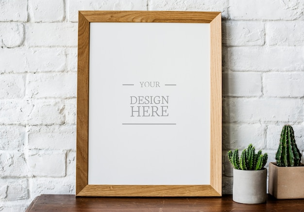 Design space photo frame Premium Psd