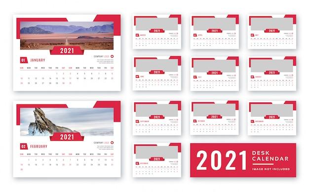 Kalender Meja 2021 - Download 160+ Contoh Template Desain