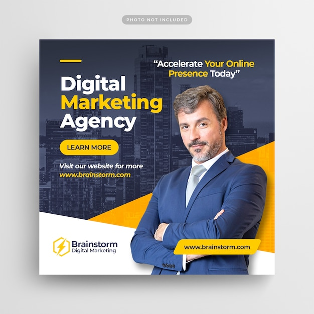Digital business marketing instagram post Premium Psd