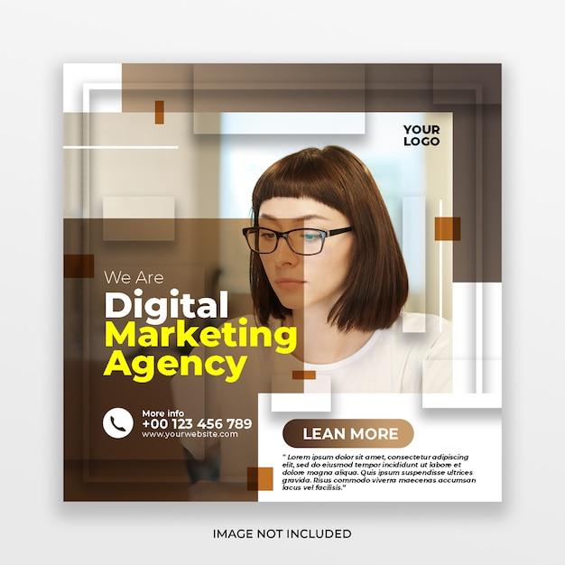 Digital business marketing social media post Premium Psd