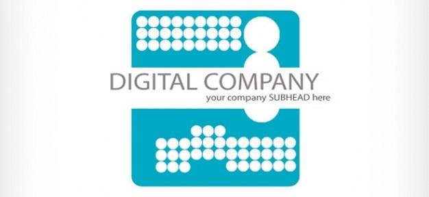 Digital company logo design PSD file | Free Download
