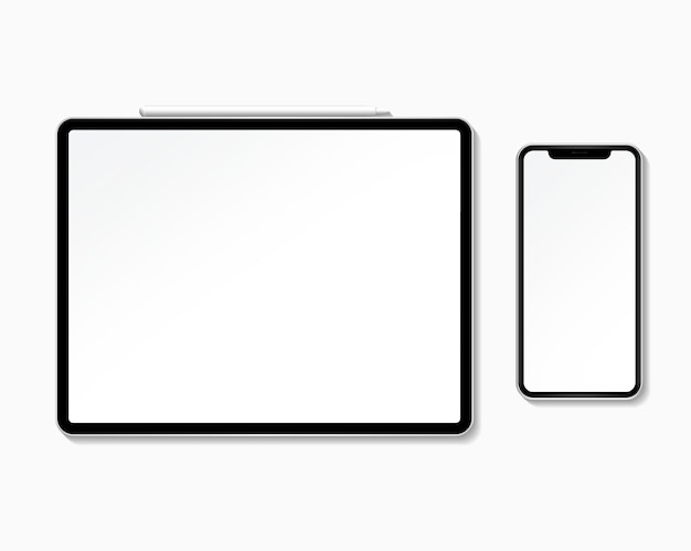 Digital device mockup set Free Psd