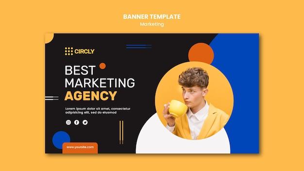 Modello di banner di marketing digitale Psd Gratuite
