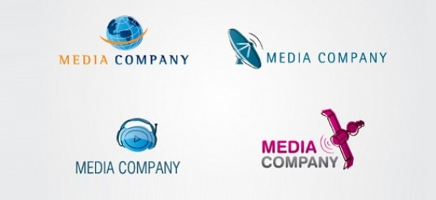 digital media vector logo templates psd file free download