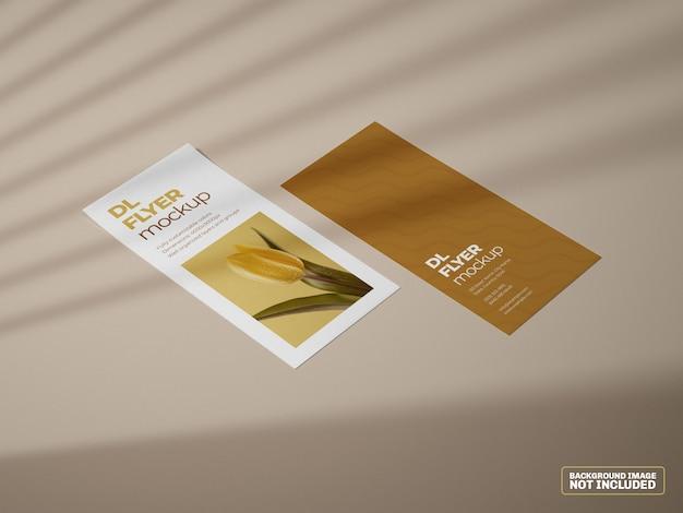 Dlフライヤーモックアップ Premium Psd