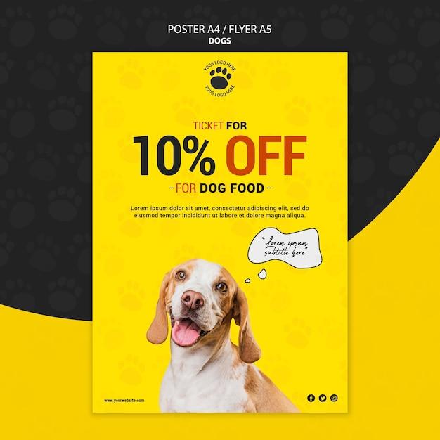 Корм для собак со скидкой Бесплатные Psd