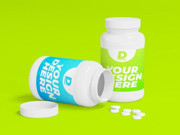 Бутылка с наркотиками Premium Psd