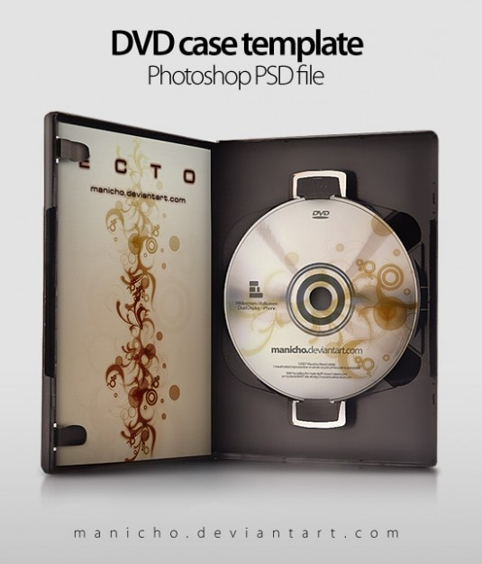 dvd case art psd file psd file free download