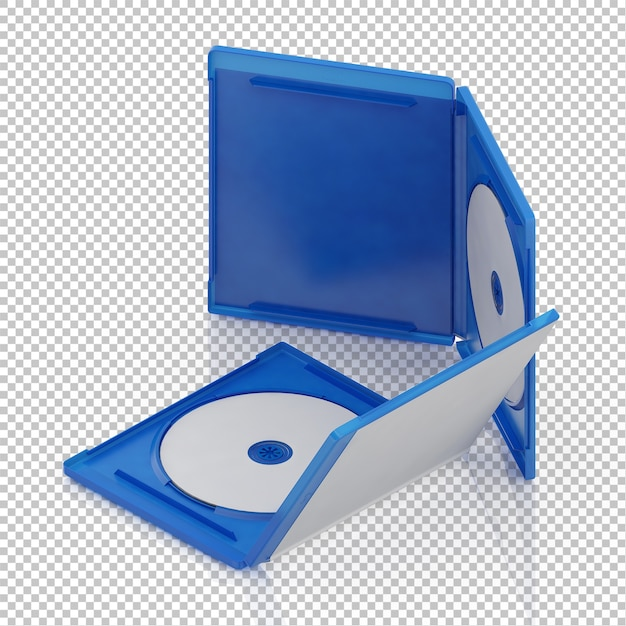 アイソメトリックdvd cd Premium Psd