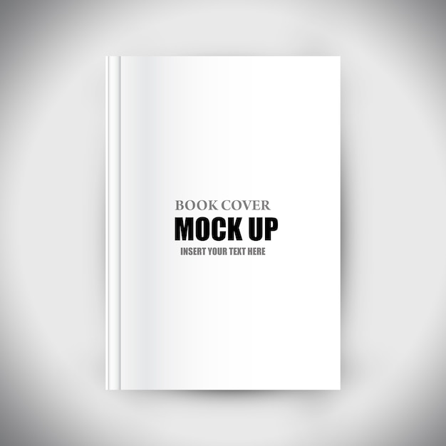 Editable book cover template Free Psd