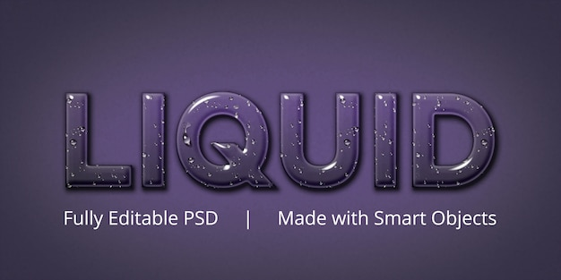Editable text style effect Premium Psd