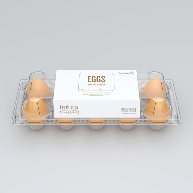 Eggs Mock Up Premium Psd File