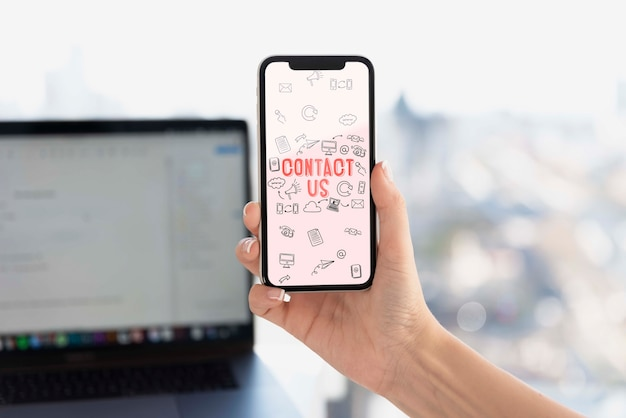 Electronic devices with wifi connection Free Psd