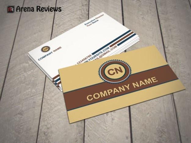 Elegant Business Card Mockup Psd File Free Download