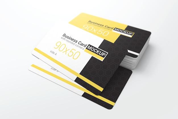 Elegant business card mockup Premium Psd