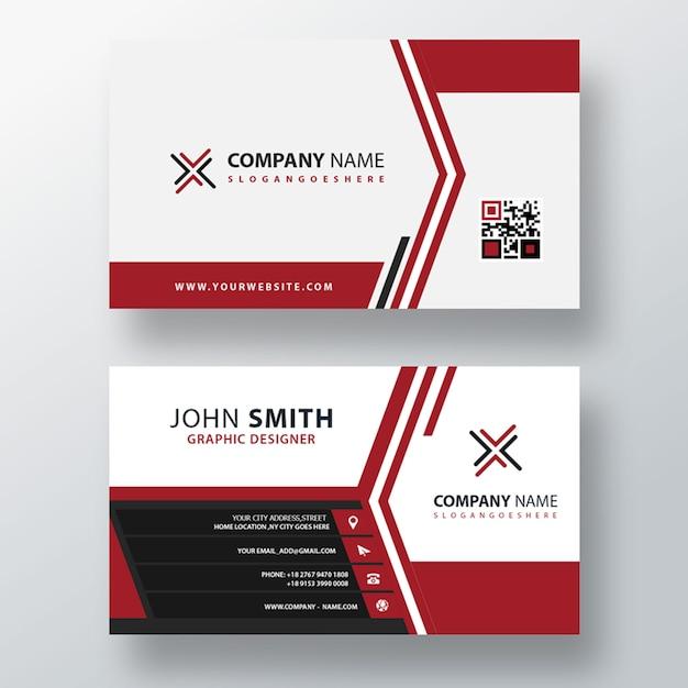 Elegant business card template Free Psd