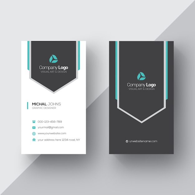 Book Cover Design Elegant : Elegant business card psd file free download